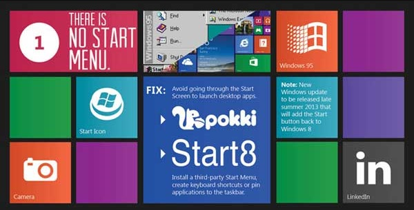 how to make windows 8 look work like windows 7