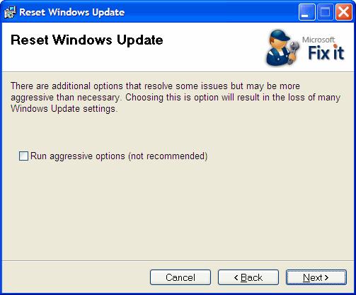 Windows Update Fixit >> What To Do When Windows Update Won T Work