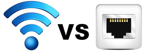 Image result for wired or wireless