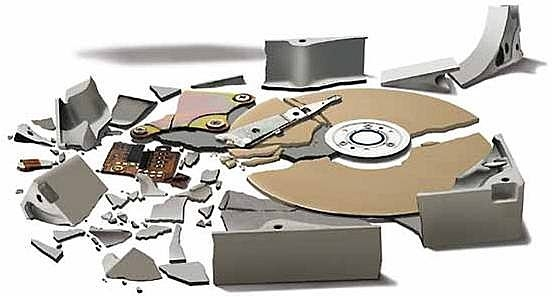 hard drive failed